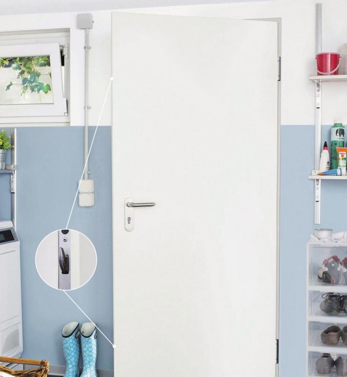 Sicherheitstüren mit Mehrfachverriegelung eignen sich als Kellerausgangs-, Garagenverbindungs-, Heizungsraum- oder Außentür. Foto: djd/Novoferm