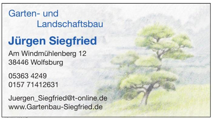 Gartenbau Siegfried