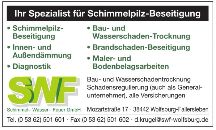 SWF Schimmel - Wasser - Feuer GmbH