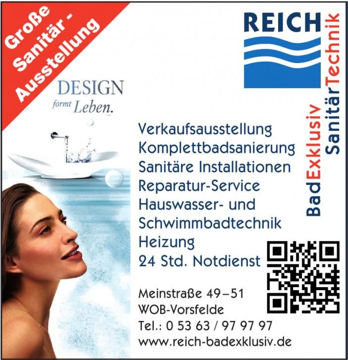 Reich-BadExklusiv, SanitärTechnik