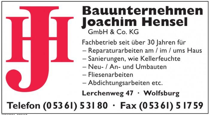 Bauunternehmen Joachim Hensel GmbH & Co. KG