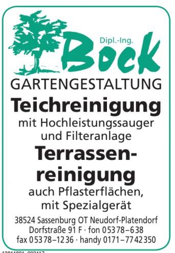Gartengestaltung Bock